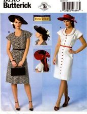 Butterick Sewing Pattern B6363 6363 Making History Misses Costumes Sizes 14-22