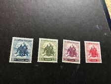 thailand stamps scott 304-307 mnhog scv 112.75 a1036