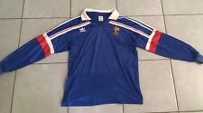 Maillot Équipe De France 1986 Vintage Manche Longue Taille M/L