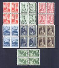 1937 Latvia stamps, Lettland, Latvija - Sc. 193-197 cover; Mi.# 246/52  MNH**