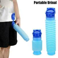 750ML Emergency Urinal Portable Camping Retractable Car NEW New Toilet X4H1