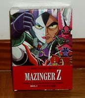MAZINGER Z LA SERIE CLASICA ORIGINAL BOX.1 NUEVO PRECINTADO NEW SEALED 12 DVD R2