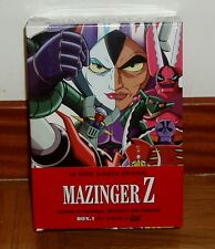 MAZINGER Z LA SERIE CLASICA ORIGINAL BOX.1 NUEVO PRECINTADO NEW SEALED 12 DVD R2