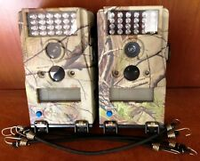 1904 Qty 2 Used Wildgame W5ED 5MP Micro Infrared Flash Camo Deer Game Camera