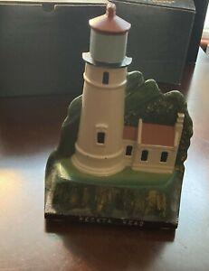 Heceta Head Cast Iron Original Lighthouse Collection 1989 WAB EUC