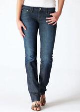 "New Ladies LEVI'S Modern Bold Curve Straight Denim Jeans Size 28"" Waist X 34"" In"