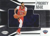 2018-19 Certified Priority Mail #PM-1 Anthony Davis New Orleans Pelicans