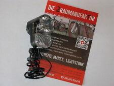 LED Scheinwerfer AXA Basta Pico 30 Steady Auto Nabendynamo 30 Lux Fahrrad Lampe