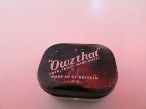 Owzthat Original Cricket Game From the 1950s refurbished one metal dice missing