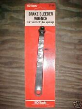 """Brake Bleeder Wrench 1/4"""" and 3/8"""" Hex Openings #2149"""