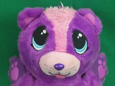 ORIGINAL PURPLE HEART FURBERRIES KITTEN PLUSH STUFFED FUR BERRIES CAT PLUSH BALL