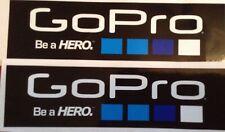 2 x essere un eroe GoPro Adesivi/Decalcomanie/BMX/motocross/Auto/Surf/Skate