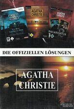 Agatha Christie 1 + 2 + 3 ( Die Offizielle Komplettlösungen ) NEU & Sofort