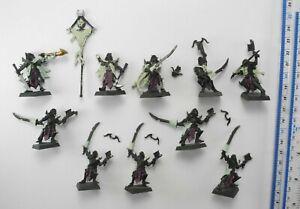 10 MENGIL MANHIDE'S MANFLAYERS Metal Dogs of War Dark Elf Elves Army 2001 96