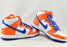 9a7211f978e0 Nike Dunk High TRD SB Ah0471 841 Danny Supa Safety Orange HYPER Blue White  Sz 10