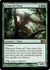 PRIMEVAL TITAN M11 Magic 2011 MTG Green Creature — Giant MYTHIC RARE