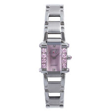 Chronotech Women's CC.7040LS/07M Crystals Stainless Steel Wristwatch