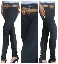 Ladies Skinny Jeans Slim Fit Size 6 8 10 12 14
