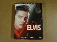 5-DISC MUSIC COLLECTORS EDITION DVD BOX + CD / ELVIS PRESLEY -75th ANNIVERSARY