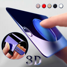 3D Full Cover Blue Ray Tempered Glass Screen Protector For iphone X 8 6s 7 Plus