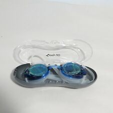 New listing Only U Swimming Goggles Anti Fog Uv Protection Blue Case Is Cracked