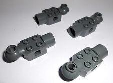 Lego (47452) 4 Rotationsgelenke 2x2x1, in dunkelgrau aus 7709 7712 8701 2521