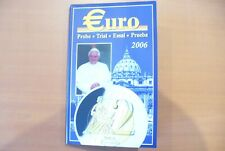 SUPERBE COFFRET ESSAI/PROBE/TRIAL EURO VATICAN  NEUF 2006 BIMETAL SOUS CAPSULE!