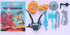 1987 MATTEL MOTU HE-MAN MASTERS OF THE UNIVERSE ACTION FIGURE WEAPONS PACK COMIC