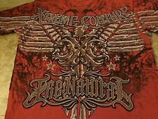 Xtreme Couture Randy Couture T-Shirt red medium UFC MMA