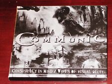 Communic: Conspiracy In Mind + Waves Of Visual Decay 2 CD Set 2013 Nuclear Blast