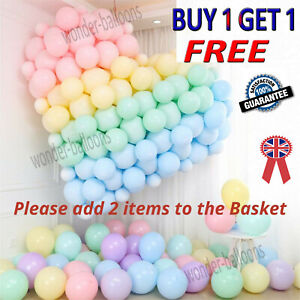 "5""-10""-12"" inch Quality Macaron Pastel balloons 100pcs Candy Mix  Party Bal"