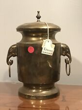 LIBERACE OWNED (1988 Auction!) Large Brass Water Urn