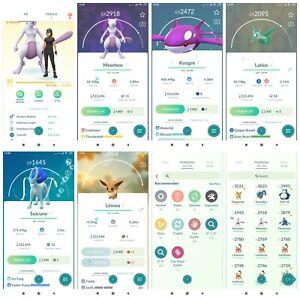Pokémon Account Go level 34 | 16 Shiny(Rare) | 89 Legendary(Rare)| 42,4*Pokemon