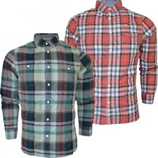 Brave Soul Fitted Long Sleeve Casual Shirts & Tops for Men