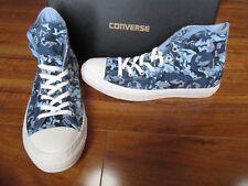 NEW Converse Chuck Taylor AS HI Canvas Sneakers MENS 11 Blue Camo 138390c $80.