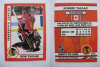 2015 SCA Rob Tallas Chicago Blackhawks goalie never issued produced #d/10