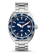 Fossil Watch * FS5048 Breaker Diver Blue Dial Silver Steel for Men COD PayPal