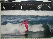 Volcom surf skateboard snowboard 2008 Mel Kadel 2 Sided Poster ~Mint Condition~!