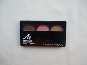 Manhattan Bloggers Choice Trio Eyeshadow Palette Downtown To Earth New