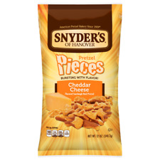 Snyder's of Hanover Pretzel Pieces Cheddar Cheese 12 oz ( Pack of 3 )