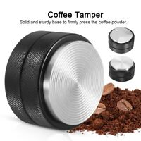 51mm Coffee Tamper Espresso Powder Distributor Three-Angled-Slopes Solid Base