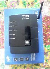 Fritzbox 7170 AVM Fritz box Router Wlan Fon Fritz!box schwarz 1&1