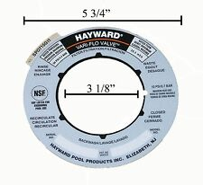Genuine Replacement Hayward Sand Filter Valve Label Plate Sticker SPX0715G