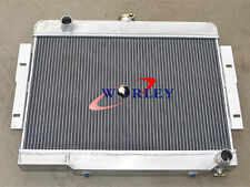 3 Row Aluminum Radiator For Jeep CJ Series CJ5 CJ7 w/ Chevy V8 AT/MT 1972-1986