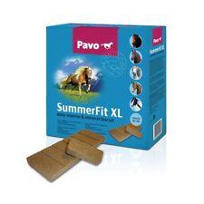 Pavo Summer Fit XL 15kg Mineralfutter Mineralriegel Pferdefutter (2,49€/1kg)