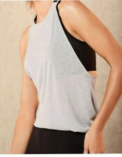 Marks & Spencer Rosie Autograph Silver Grey Activewear Sports Vest size 12