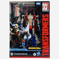 Transformers Studio Series 72 STARSCREAM Voyager Class Bumblebee Hasbro Figure