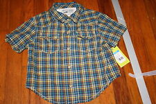 Genuine Kids 24 month boys shirt snap buttons NWT