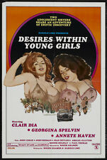 DESIRES WITHIN YOUNG GIRLS Movie POSTER 27x40 Georgina Spelvin Annette Haven