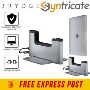MacBook Pro 13 W/Touch Bar Model (2020-2016) BRYDGE Vertical Dock - Space Gray